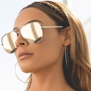 Quay High Key Gold Sunglasses